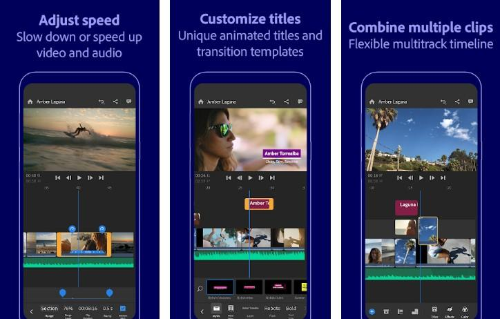 Adobe Premiere Rush - Video Editor
