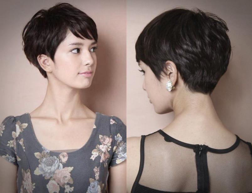 Model Rambut Pixie Haircut