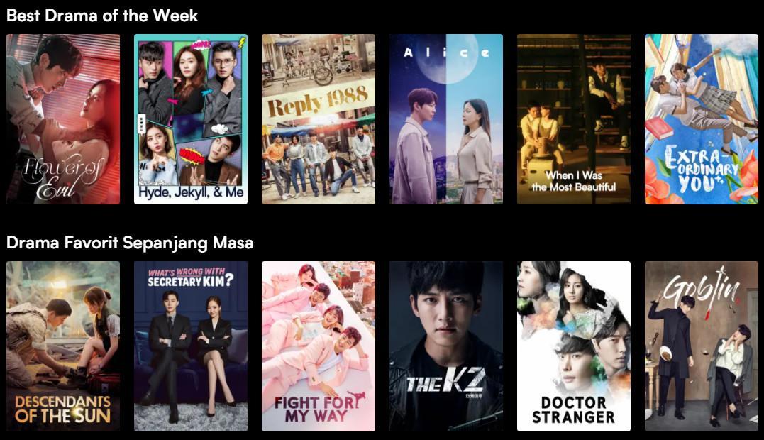 10+ Situs / Aplikasi Nonton Drama Korea Sub Indo Gratis ...
